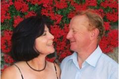 Z żoną Urszulą, lipiec 2006 r.