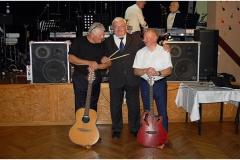 Jubileusz 50 lat współpracy muzycznej z przyjacielem Stefanem Czepielindą, lipiec 2017 r.