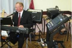 Człowiek orkiestra, Tyniec Mały, listopad 2011 r.